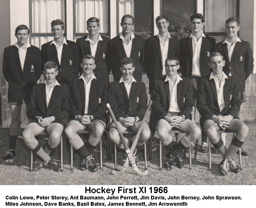 Gwebi College of Agriculture Hockey First XI 1967