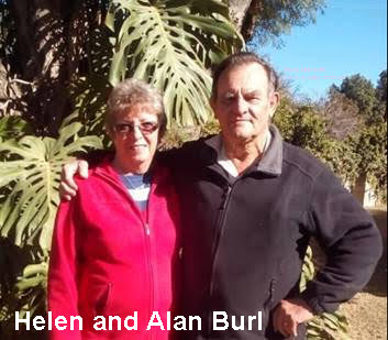 Alan and Helen Burl fromCourse 17 Gwebi College of Agriculture
