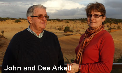 John and Dee Arkell from Gwebi College of Agriculture Course 17